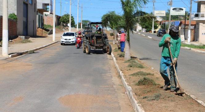 Operação Limpeza continua pela cidade