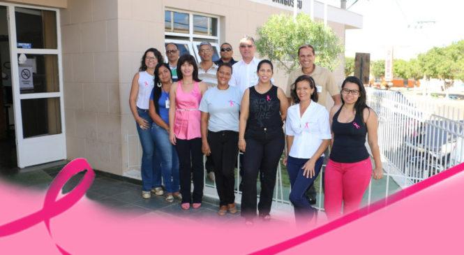 Servidores do Judiciário aderem ao Outubro Rosa – Mês de Conscientização sobre o combate ao câncer de mama.