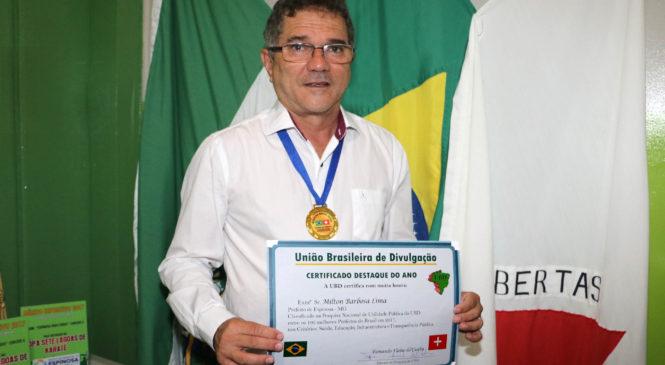 Milton Barbosa entre os melhores prefeitos do Brasil