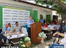 Prefeito assina ordem de licitação para calçamento no bairro Santa Cláudia e pavimentação asfáltica no João Paulo II
