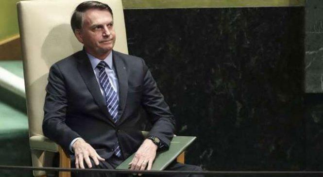 Bolsonaro reconhece que discurso na ONU foi feito para atender eleitorado