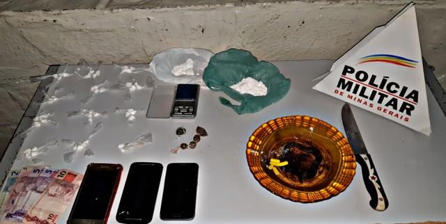 Dois homens são detidos em lugar usado como laboratório de drogas em Montes Claros