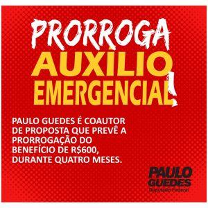 prorroga auxilio emergencial