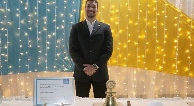 Rotary Club de Espinosa empossa nova diretoria para gestão 2021-2022